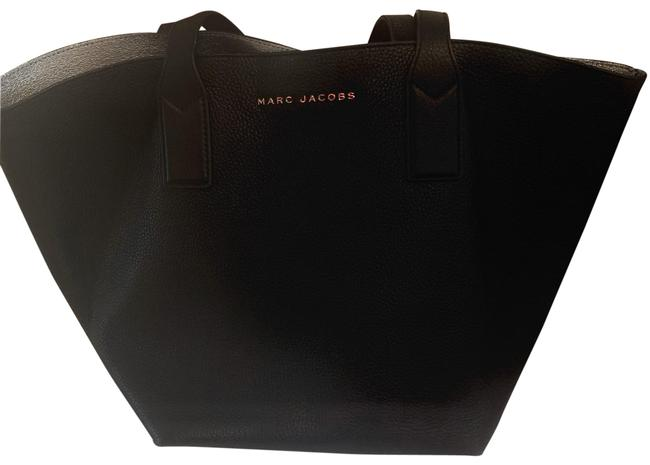 Marc Jacobs Black/Silver Leather Tote Marc Jacobs Black/Silver Leather Tote Image 1