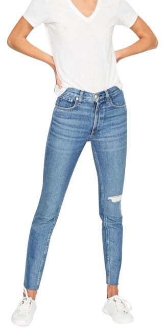 Item - Blue Medium Wash Pamela High Waist Ankle Skinny Jeans Size 2 (XS, 26)