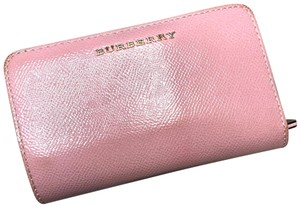 Burberry Patent London Leather Continental Wallet