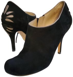 La Fenice Leather Suede Ankle Black / Grey Boots