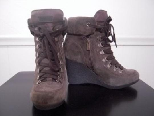 Kenneth Cole Military Green Boots