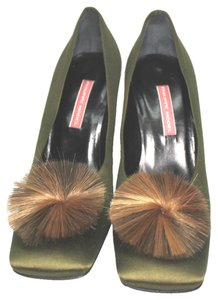 Philippe Model Made In Italy olive green Pumps