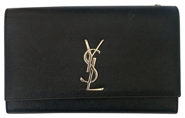 Item - Like New Black with The Silver Hardware Cross Body Bag