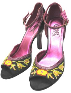 Carlos by Carlos Santana Embellished MULTICOLOR Sandals