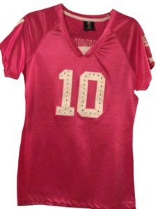 NFL Team Apparel Top Pink and white