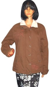 Cabela's Blue Damsel Embroidered Embroidered Winter Coat