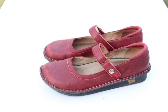 Alegria by PG Lite Red Bell Mules/Slides Size US 7 Regular (M, B) Alegria by PG Lite Red Bell Mules/Slides Size US 7 Regular (M, B) Image 2