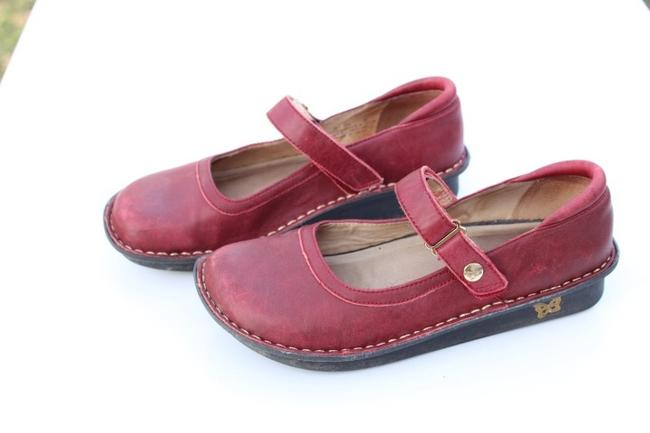 Alegria by PG Lite Red Bell Mules/Slides Size US 7 Regular (M, B) Alegria by PG Lite Red Bell Mules/Slides Size US 7 Regular (M, B) Image 3
