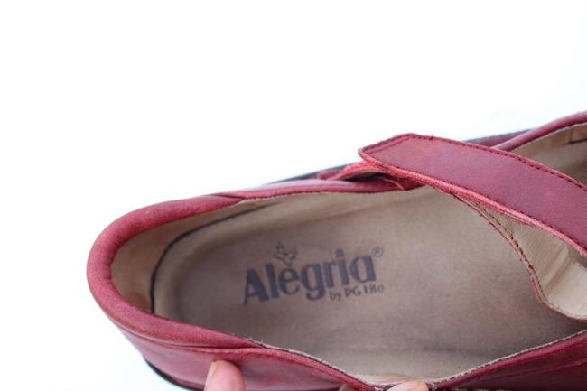 Alegria by PG Lite Red Bell Mules/Slides Size US 7 Regular (M, B) Alegria by PG Lite Red Bell Mules/Slides Size US 7 Regular (M, B) Image 5