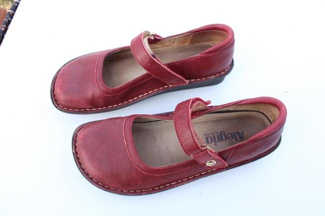 Alegria by PG Lite Red Bell Mules/Slides Size US 7 Regular (M, B) Alegria by PG Lite Red Bell Mules/Slides Size US 7 Regular (M, B) Image 7