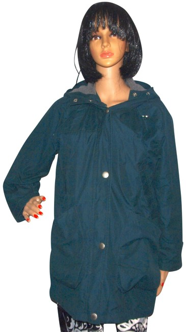 Item - Green Hooded Winter Coat Size 2 (XS)