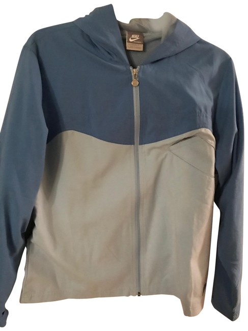 Item - Blue and Light Blue Running Jacket Size 12 (L)