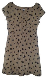 Old Navy short dress Light Brown Fabric on Tradesy