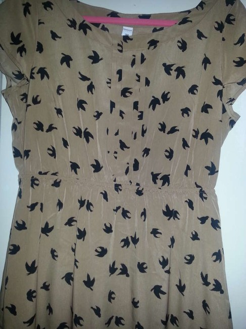 Old Navy short dress Light Brown Light Fabric on Tradesy