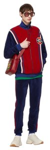 Gucci Gucci Red& Blue velour Track suit