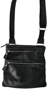 Margot Leather Silver Hardware Cross Body Bag