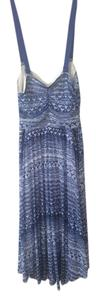 Free People short dress Blue Tribal Boho Summer on Tradesy