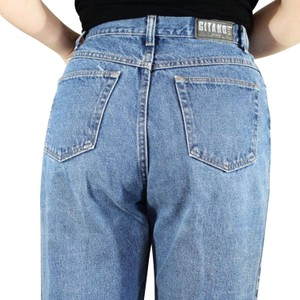 Gitano Relaxed Fit Jeans-Medium Wash