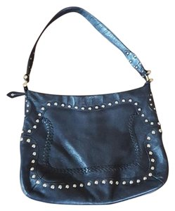 Via Spiga Studded Leather Hobo Bag