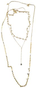 Anthropologie Set Layered Necklace