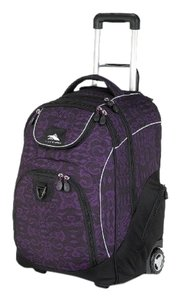 High Sierra Travel Luggage Carry On Laptop Wheeled Backpack