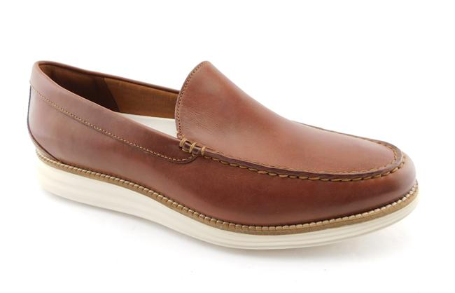 Item - Brown Grand Leather Slip-on Loafers Men's 11.5 Shoes