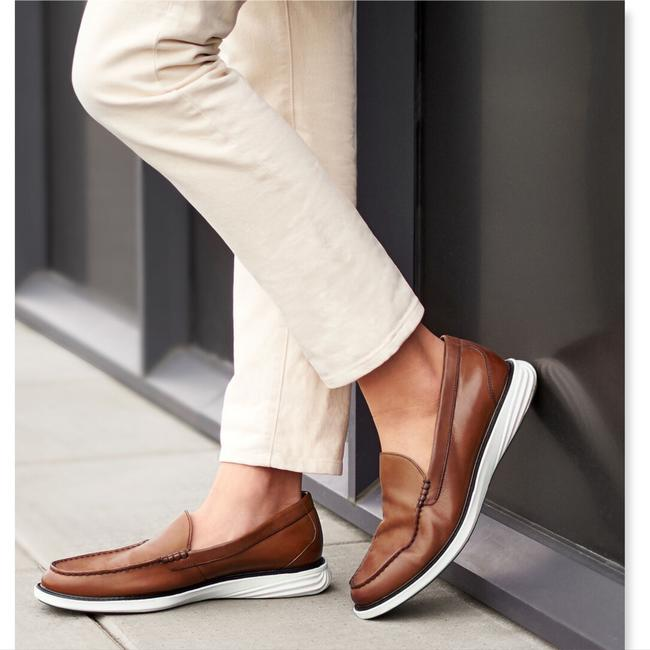 Cole Haan Brown Grand Leather Slip-on Loafers Men's 11.5 Shoes Cole Haan Brown Grand Leather Slip-on Loafers Men's 11.5 Shoes Image 3