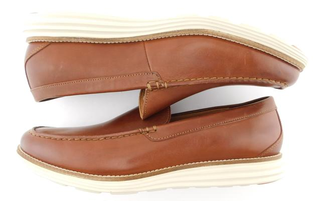 Cole Haan Brown Grand Leather Slip-on Loafers Men's 11.5 Shoes Cole Haan Brown Grand Leather Slip-on Loafers Men's 11.5 Shoes Image 4