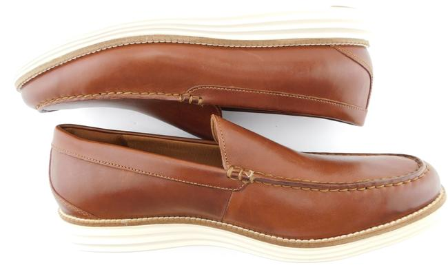 Cole Haan Brown Grand Leather Slip-on Loafers Men's 11.5 Shoes Cole Haan Brown Grand Leather Slip-on Loafers Men's 11.5 Shoes Image 5