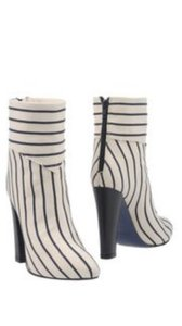 Mauro Grifoni New Navy and ivory stripes Boots