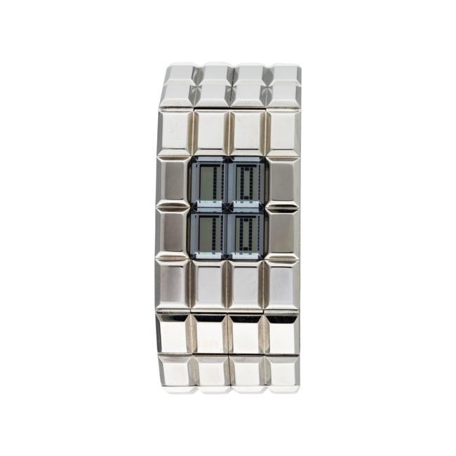 Item - Silver Rare Vintage Ice Cube Watch