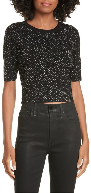 Item - Ciara Crystal Studded Black with Tag Sweater