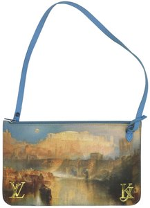 Louis Vuitton Wristlet in Blue Van Gogh Pouch Turner Limited Edition
