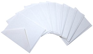 Tiffany & Co. Lot of 10 Blank note cards and envelopes