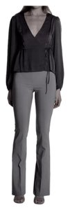 Avenue Montaigne Boot Cut Pants Grey