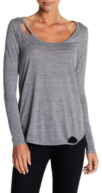 Preload https://img-static.tradesy.com/item/26604526/chaser-gray-deconstructed-distressed-long-sleeve-scoop-neck-burn-out-tee-shirt-size-2-xs-0-1-650-650.jpg