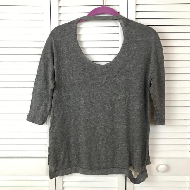 Chaser Distressed Ripped Grunge Yeezy Soft T Shirt Gray Image 6