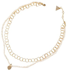 Anthropologie Pear Layered Necklace