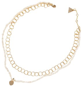 Anthropologie Pearl Layered Necklace