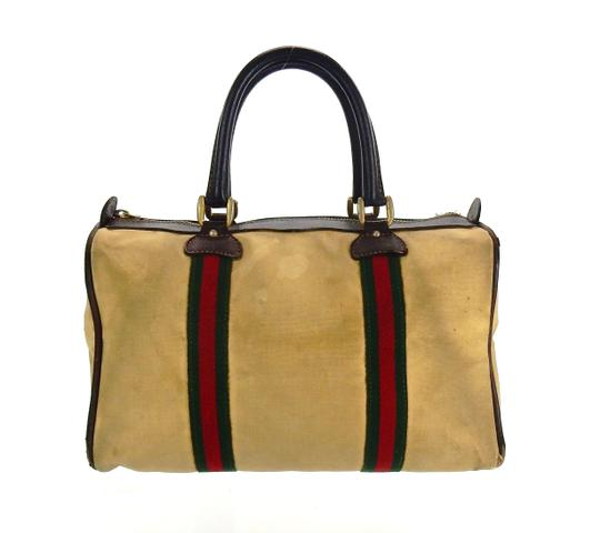 Preload https://img-static.tradesy.com/item/26604939/gucci-carry-all-bag-boston-vintage-brown-web-canvas-and-leather-tote-0-0-540-540.jpg