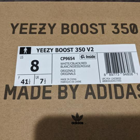 YEEZY White and black Athletic Image 4