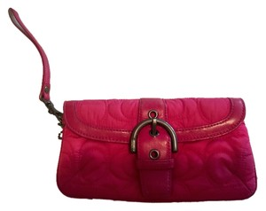 Coach Hot Wristlet in Pink
