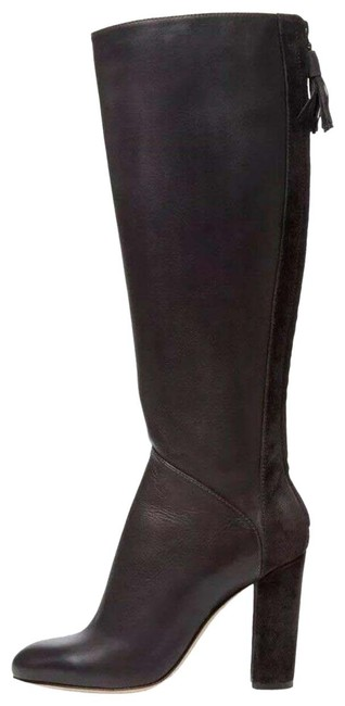 Item - Brown Alixe Tall Soft Leather Heeled Knee Boots/Booties Size EU 38 (Approx. US 8) Regular (M, B)