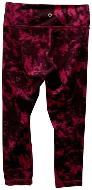 Item - Purple and Pink Wunder Under Activewear Bottoms Size 4 (S)