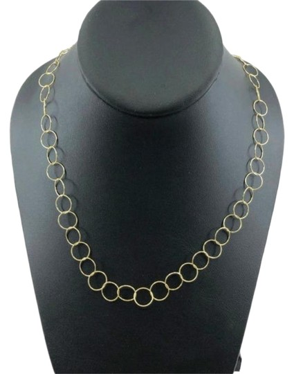Preload https://img-static.tradesy.com/item/26606479/gold-vintage-sterling-silver-vermeil-circle-chain-necklace-0-1-540-540.jpg