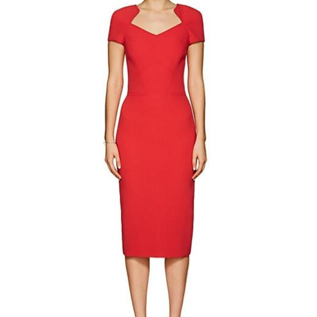 Preload https://img-static.tradesy.com/item/26606482/zac-posen-cranberry-red-crepe-fitted-mid-length-cocktail-dress-size-2-xs-0-2-650-650.jpg