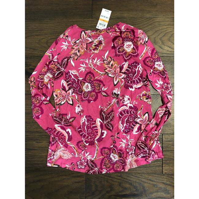 Style & Co T Shirt berry pink Image 2