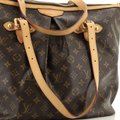 Louis Vuitton Palermo Canvas Tote in Brown Image 5