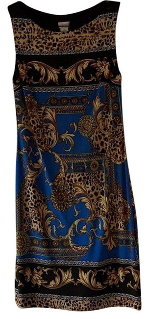 Preload https://img-static.tradesy.com/item/26606523/cache-blue-and-gold-versace-print-mid-length-night-out-dress-size-6-s-0-1-650-650.jpg