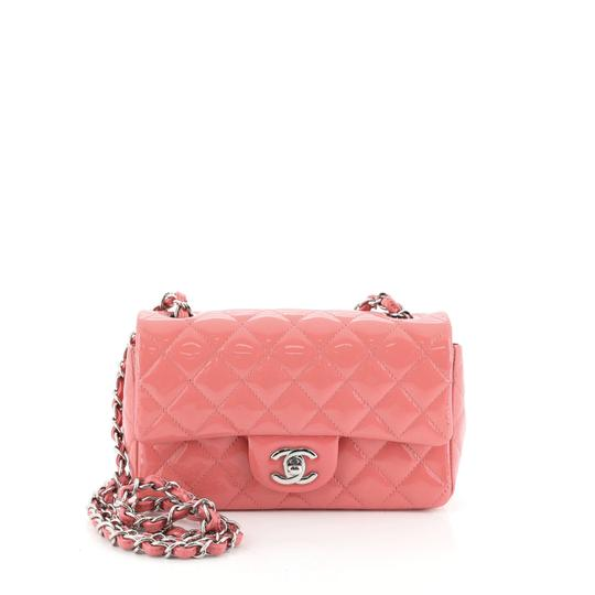 Preload https://img-static.tradesy.com/item/26606527/chaus-flap-classic-single-quilted-mini-pink-patent-leather-shoulder-bag-0-0-540-540.jpg